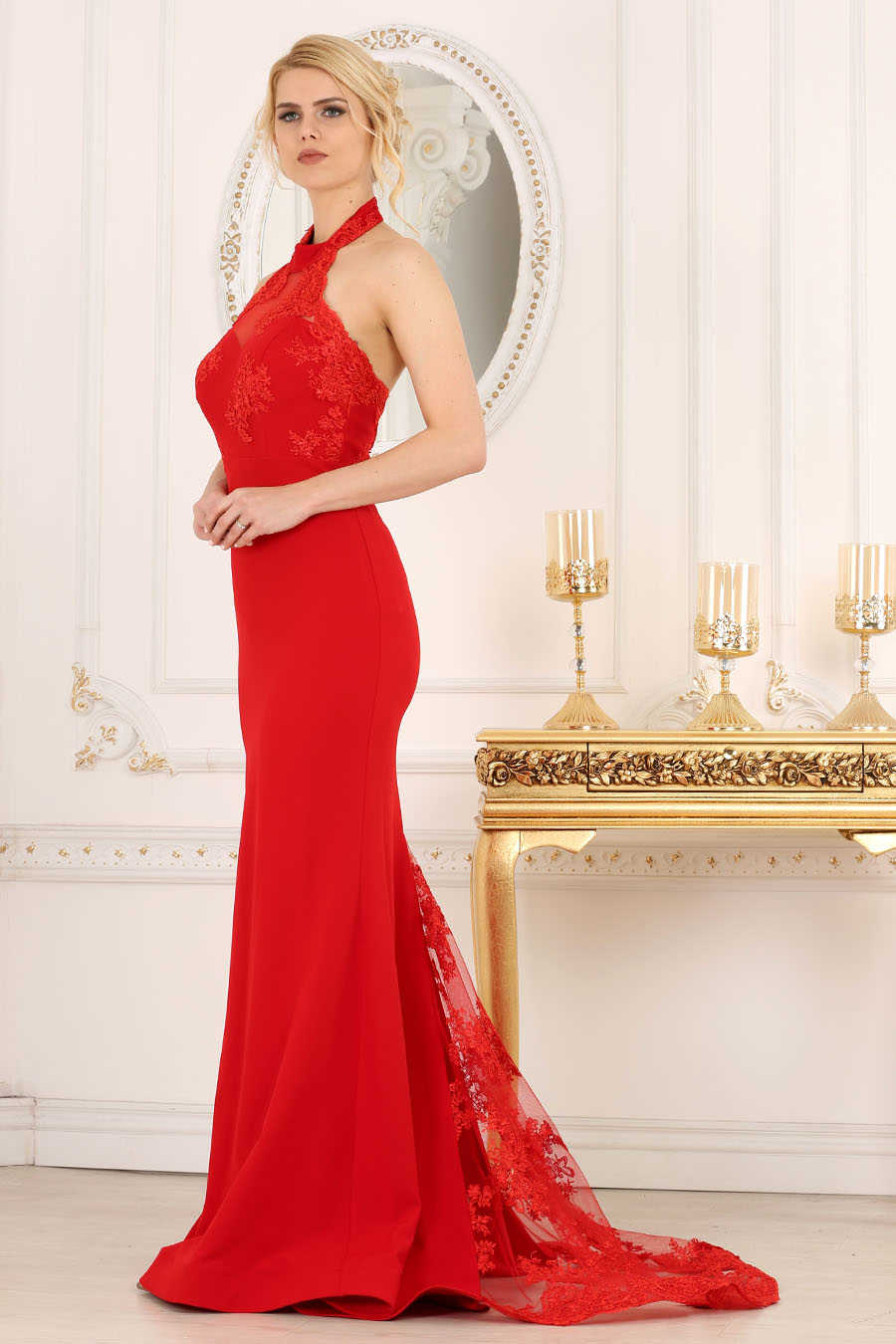 Neva Style - Red Prom Dress 7385K
