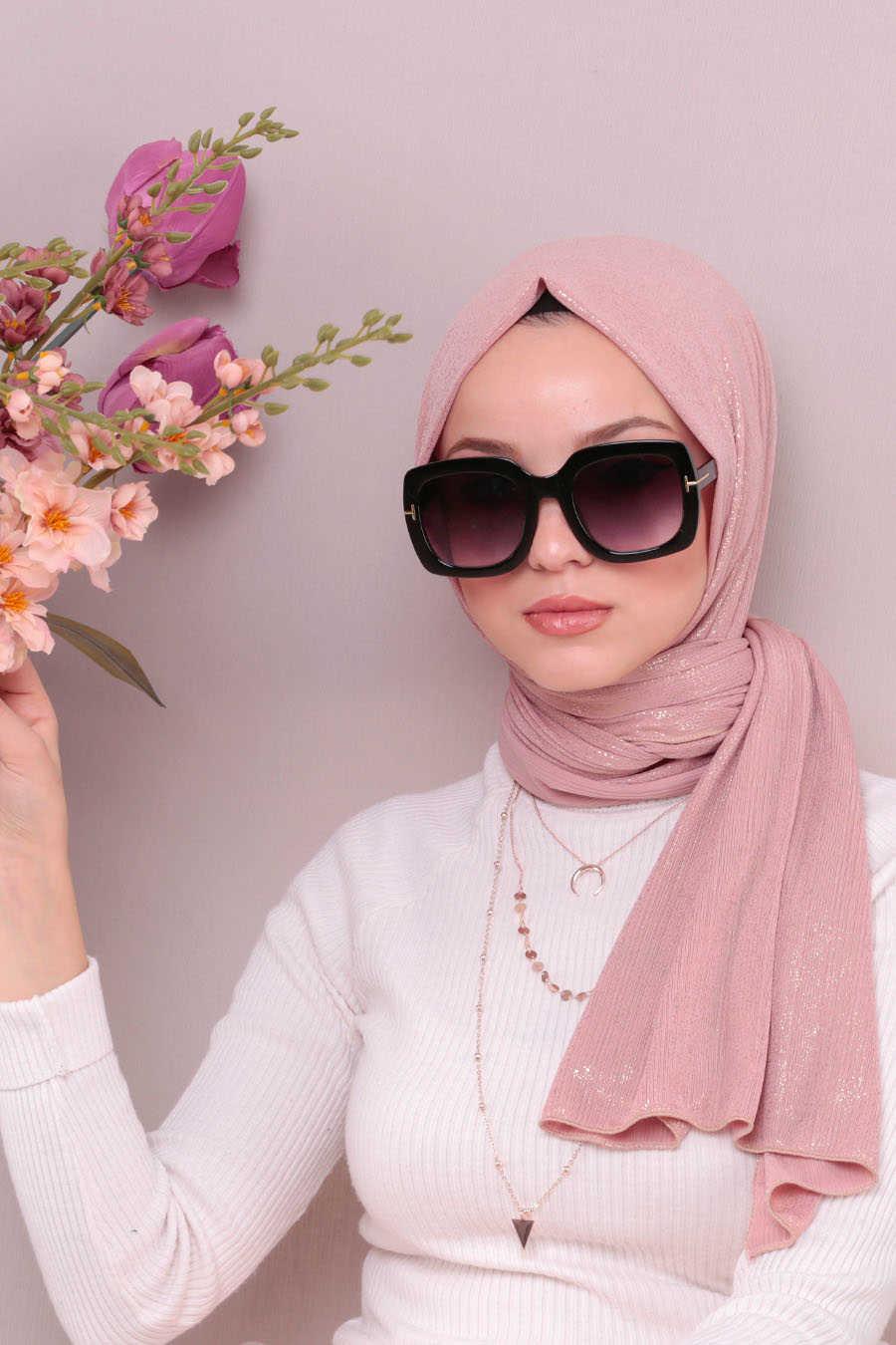 Shawl - Neva Style Powder Pink Shawl 7496PD
