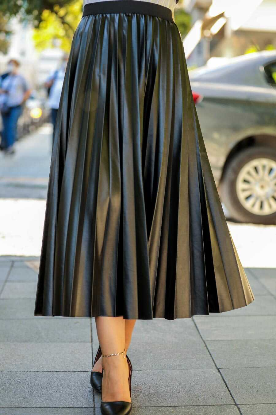 Black Hijab Skirt 12911S