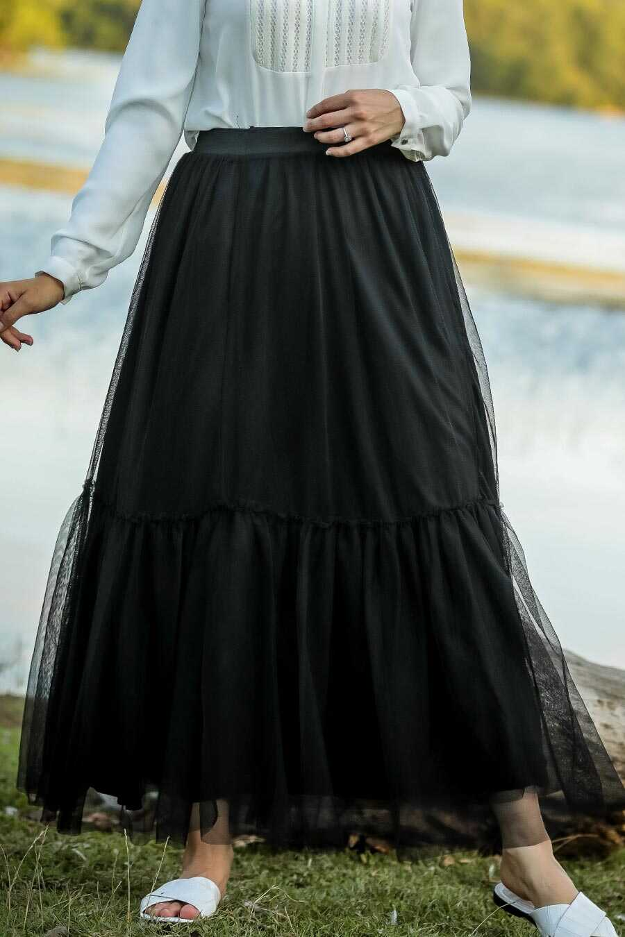 Black Hijab Skirt 18580S