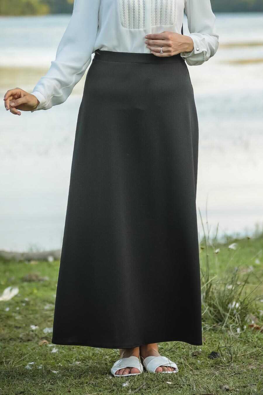 Black Hijab Skirts 5937S