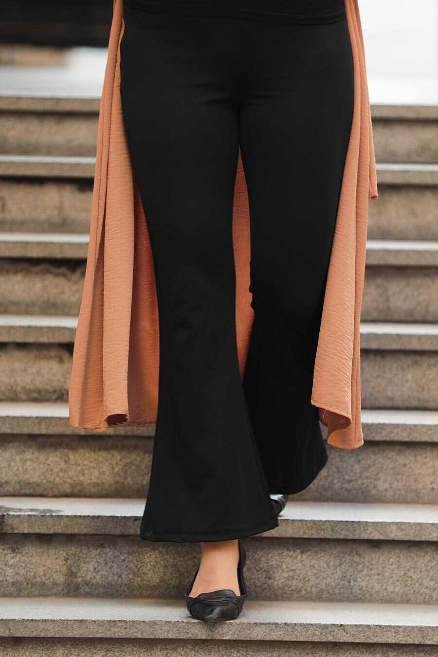 Black Hijab Trousers 1797S