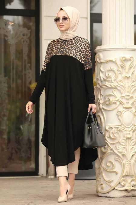 Black Hijab Tunic 40003S