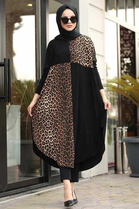 Black Hijab Tunic 40005S