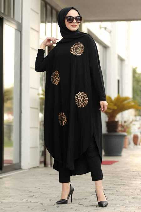 Black Hijab Tunic 40021S