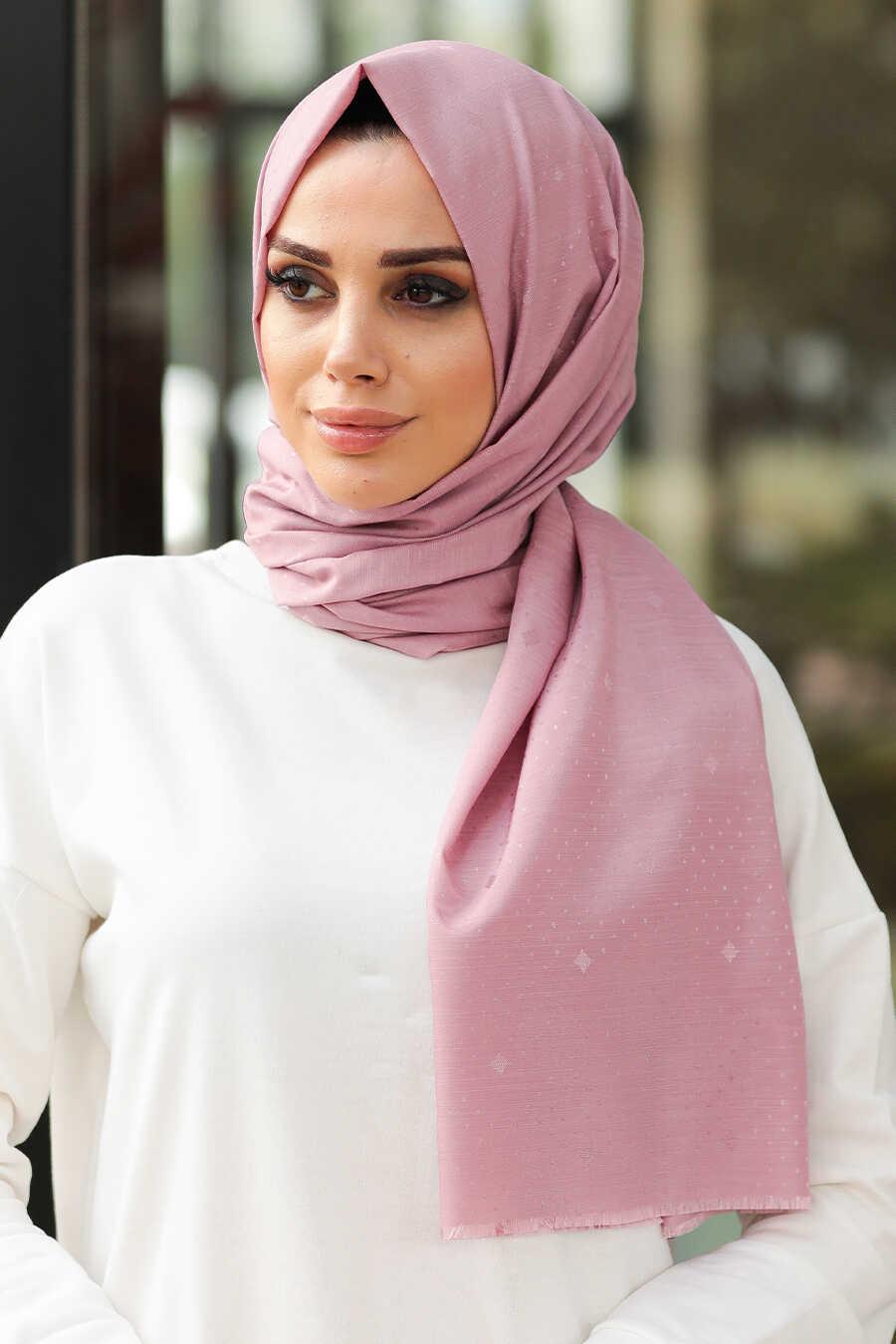 Dusty Rose Hijab Shawl 7529GK