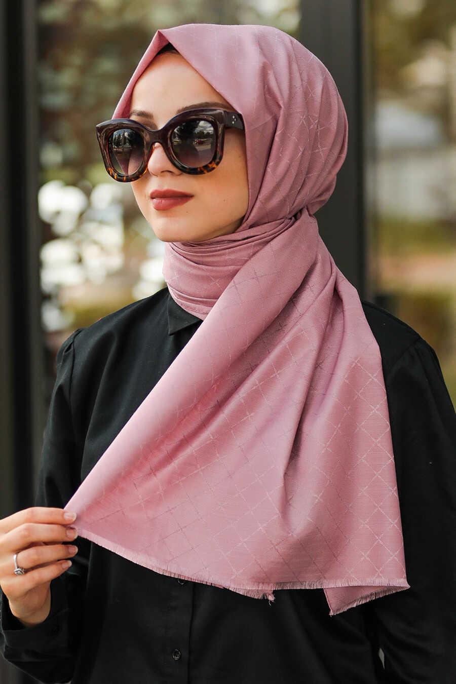 Dusty Rose Hijab Shawl 7530GK