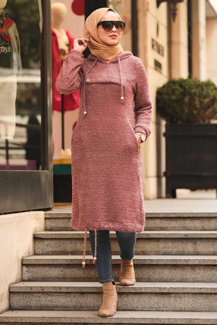 Dusty Rose Hijab Tunic 5969GK