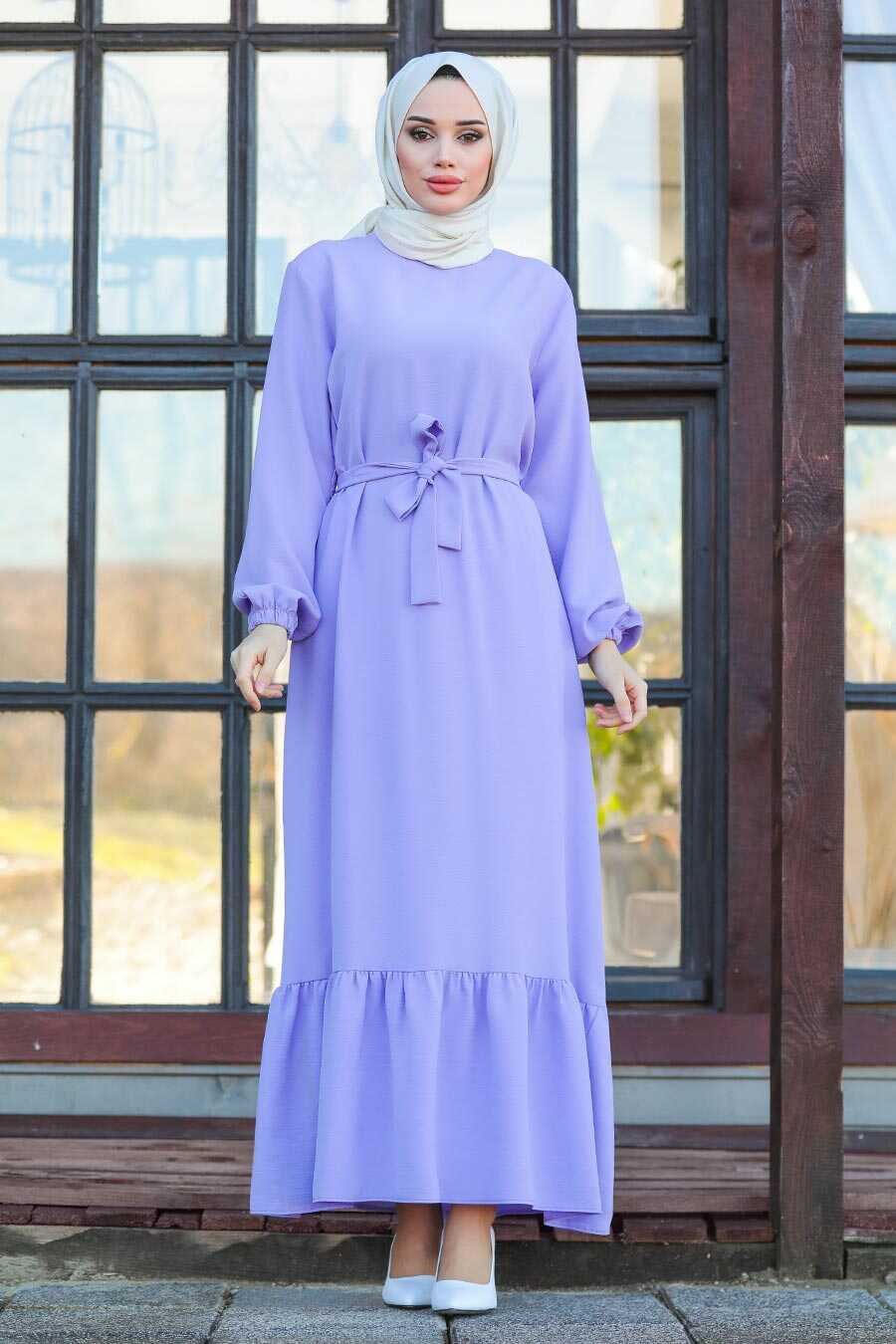 Lila Hijab Dress 1441LILA
