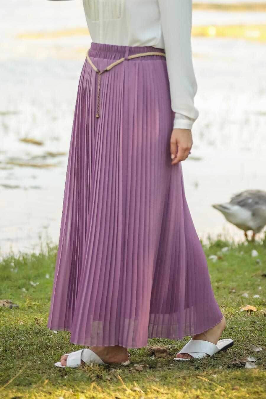 Lila Hijab Skirt 1819LILA