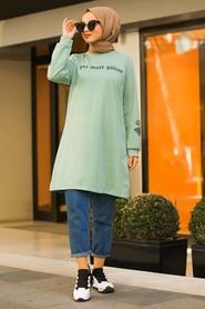Mint Hijab Tunic 41240MINT - Thumbnail