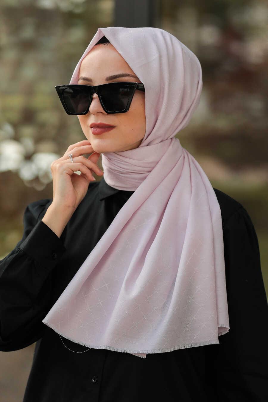 Powder Pink Hijab Shawl 7530PD