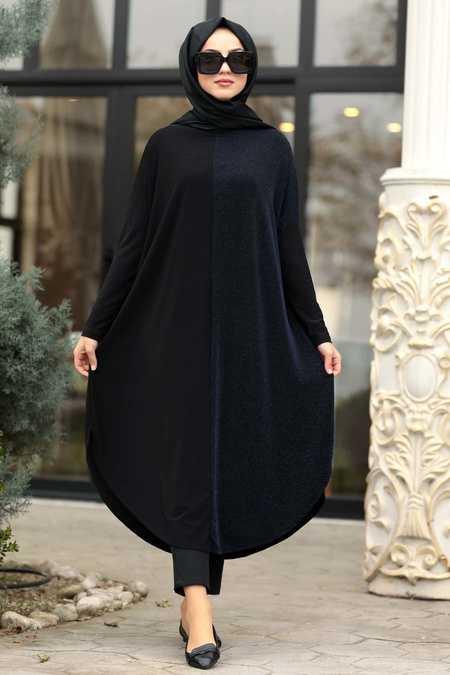 Royal Blue Hijab Tunic 49430SX