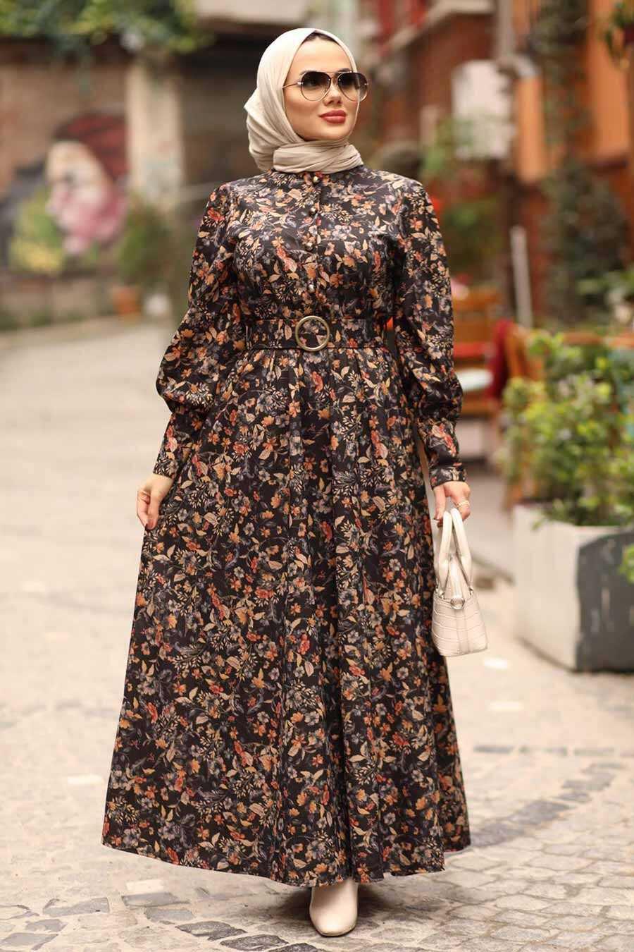 Sunuff Colored Dress 44671TB