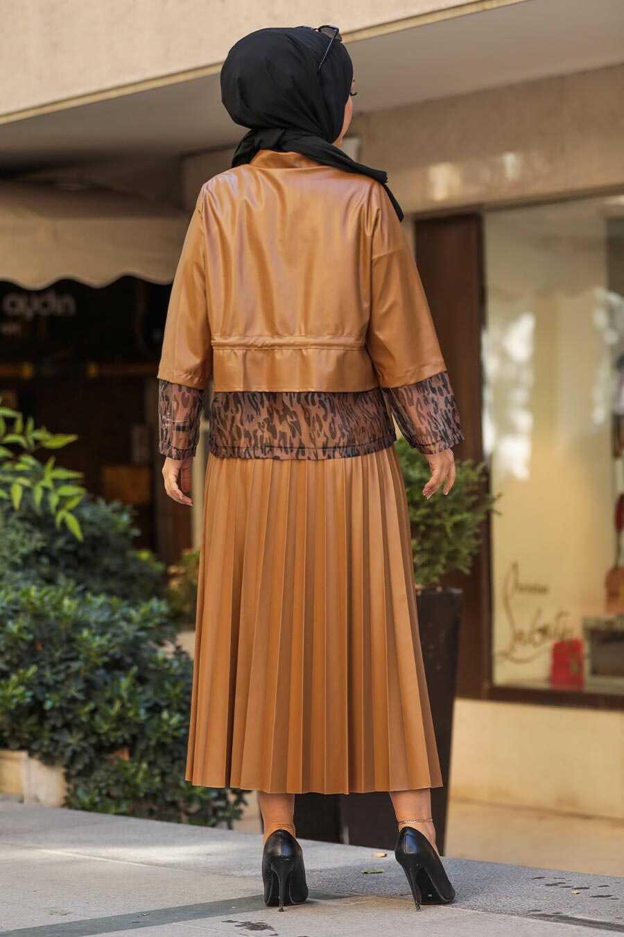 Sunuff Colored Dual Suit Dress 1294TB