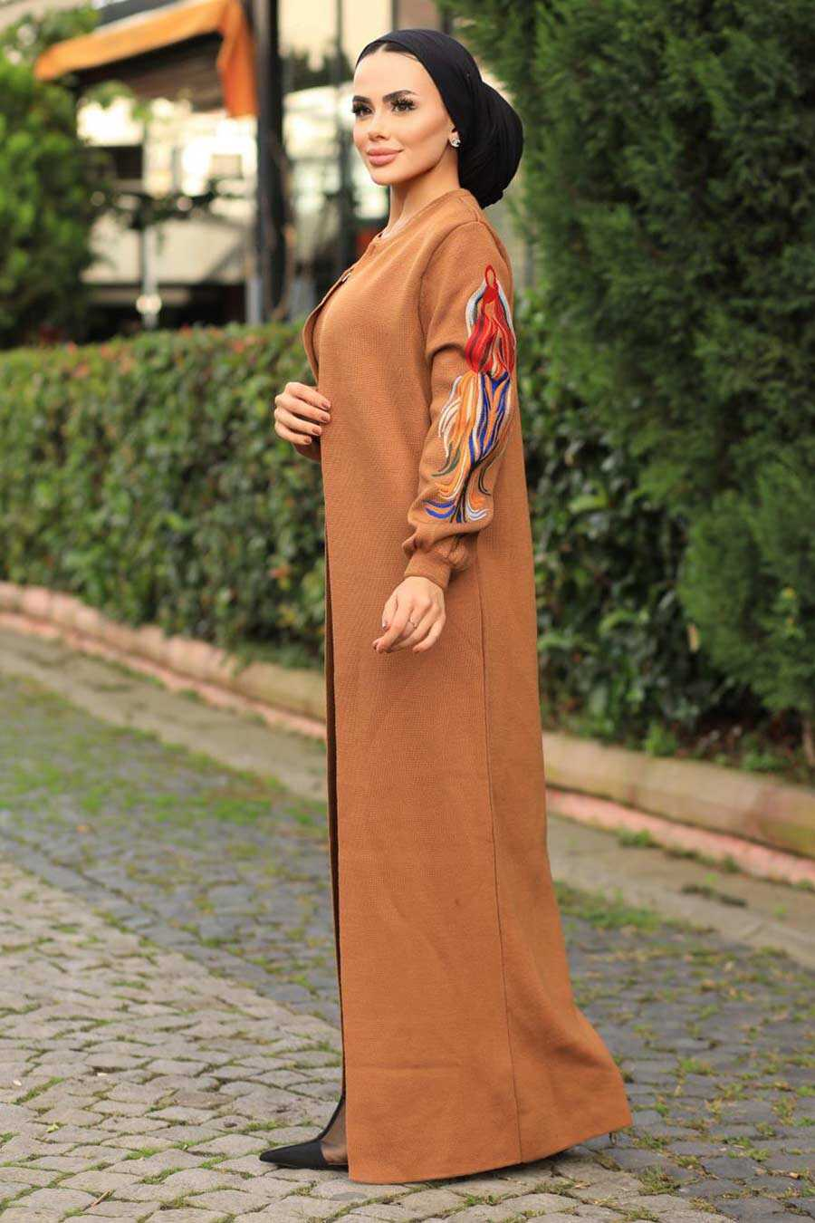 Sunuff Colored Hijab Dual Suit Dress 2200TB
