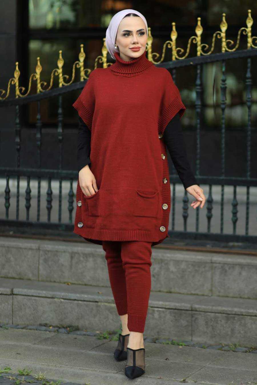 Terra Cotta Dual Suit Dress 7652KRMT