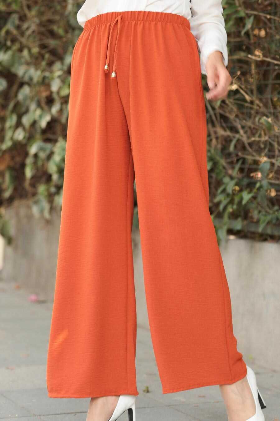 Terra Cotta Hijab Trousers 1796KMT