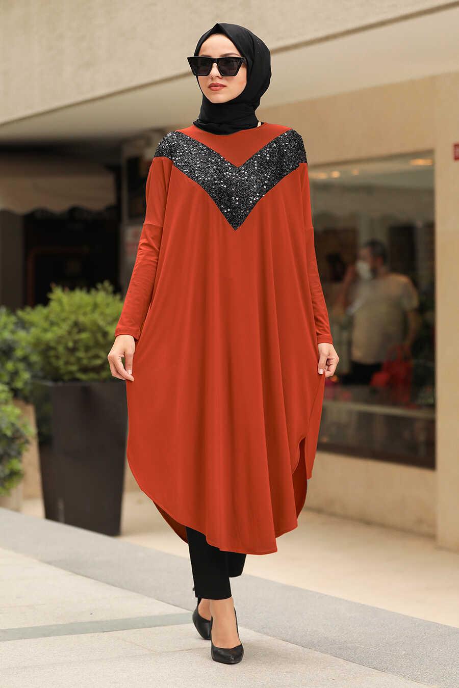 Terra Cotta Hijab Tunic 400010KRMT