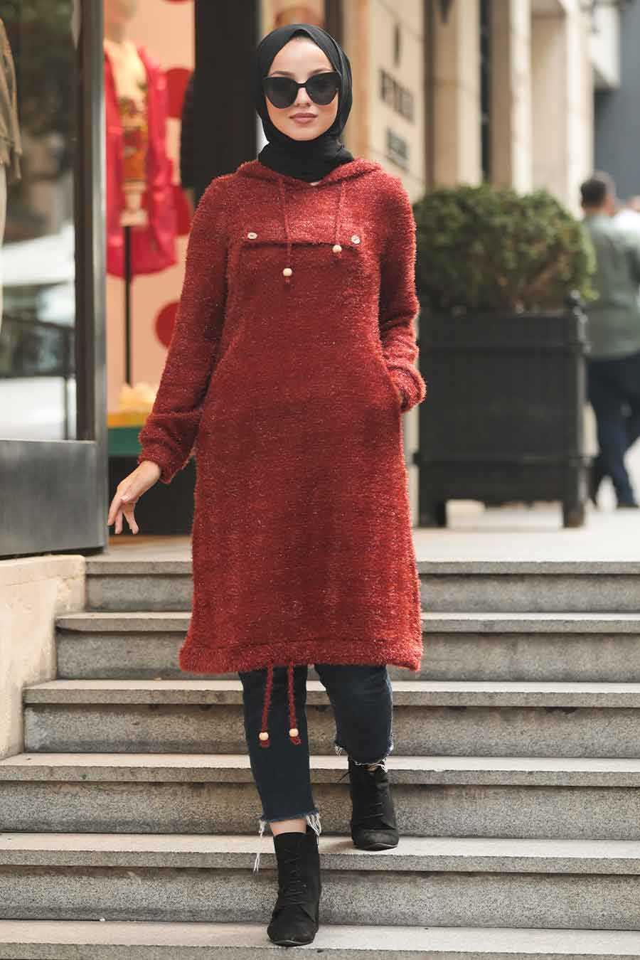 Terra Cotta Hijab Tunic 5969KRMT